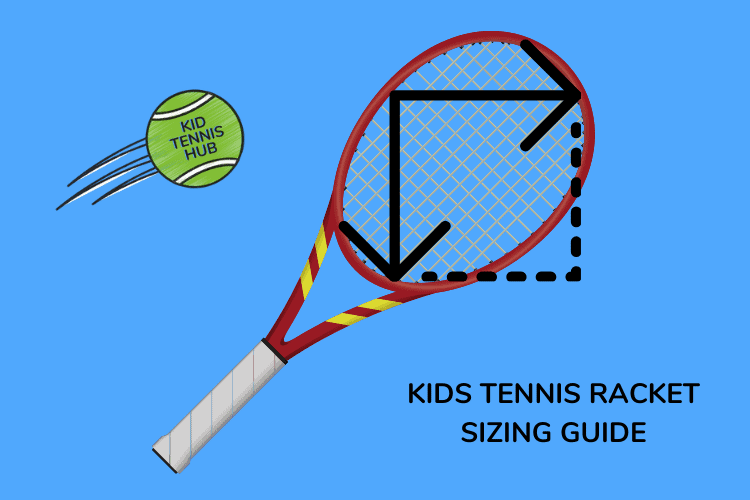 Tennis Racket Size for Kids Based on Age