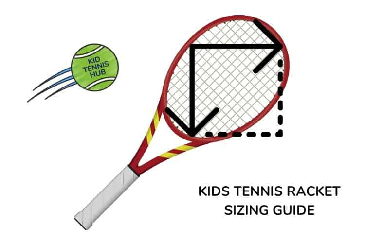 tennis racket size for kids