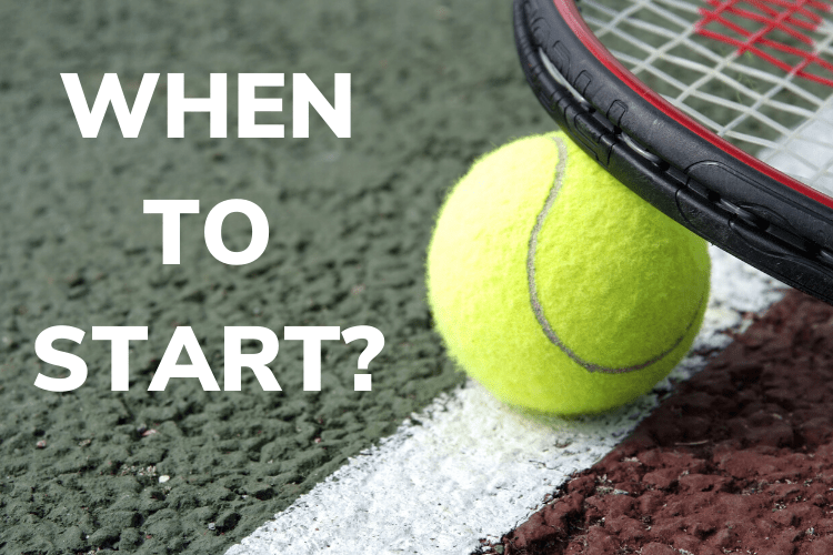 When to Start Tennis Lessons
