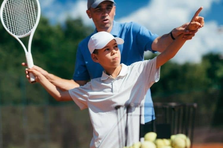 keep kids interested in tennis