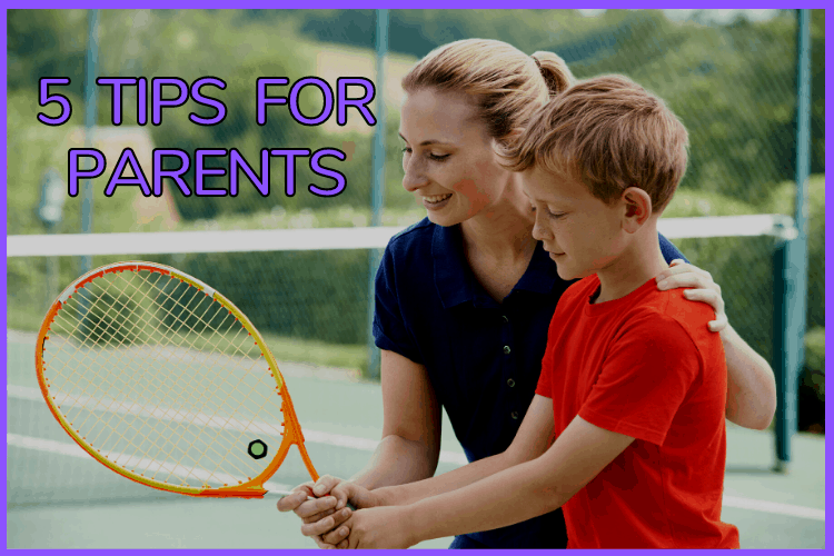 5 Tips for Teaching Your Kids Tennis