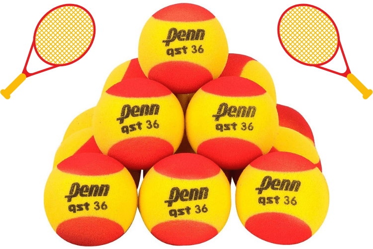 foam tennis balls for kids